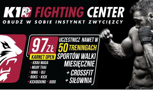 """Studium przypadku Klubu Sportowego """"K1 Fighting Center"""""""